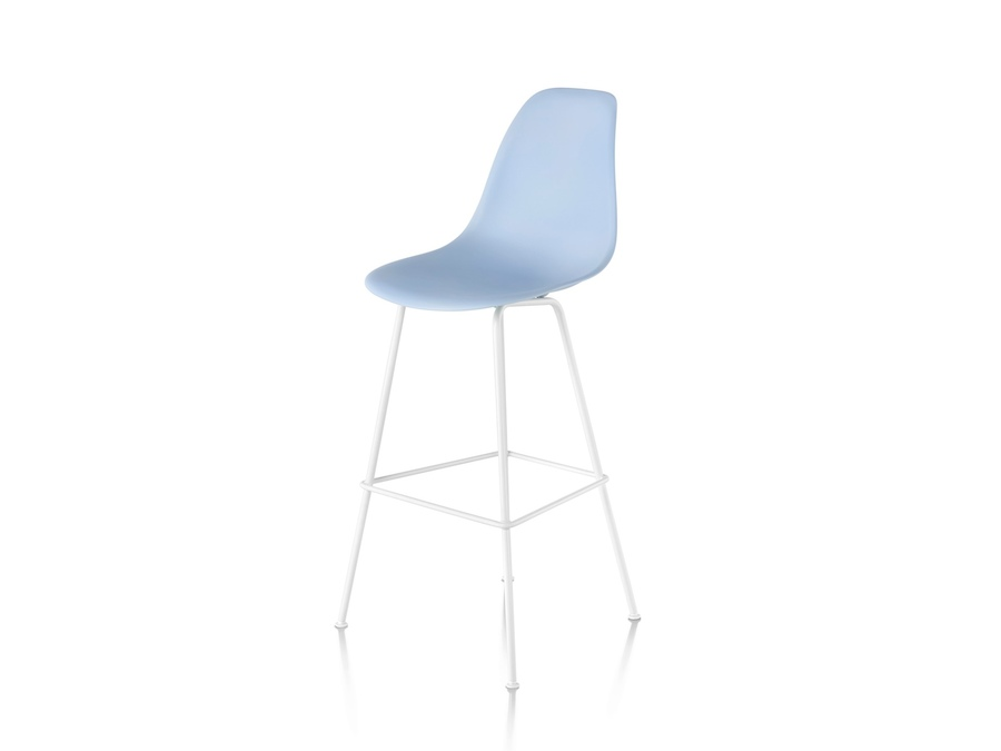 A photo - Eames Molded Plastic Stool–Bar Height–Nonupholstered