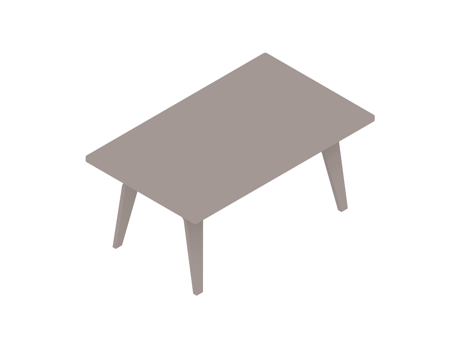 A generic rendering - Eames Rectangular Coffee Table
