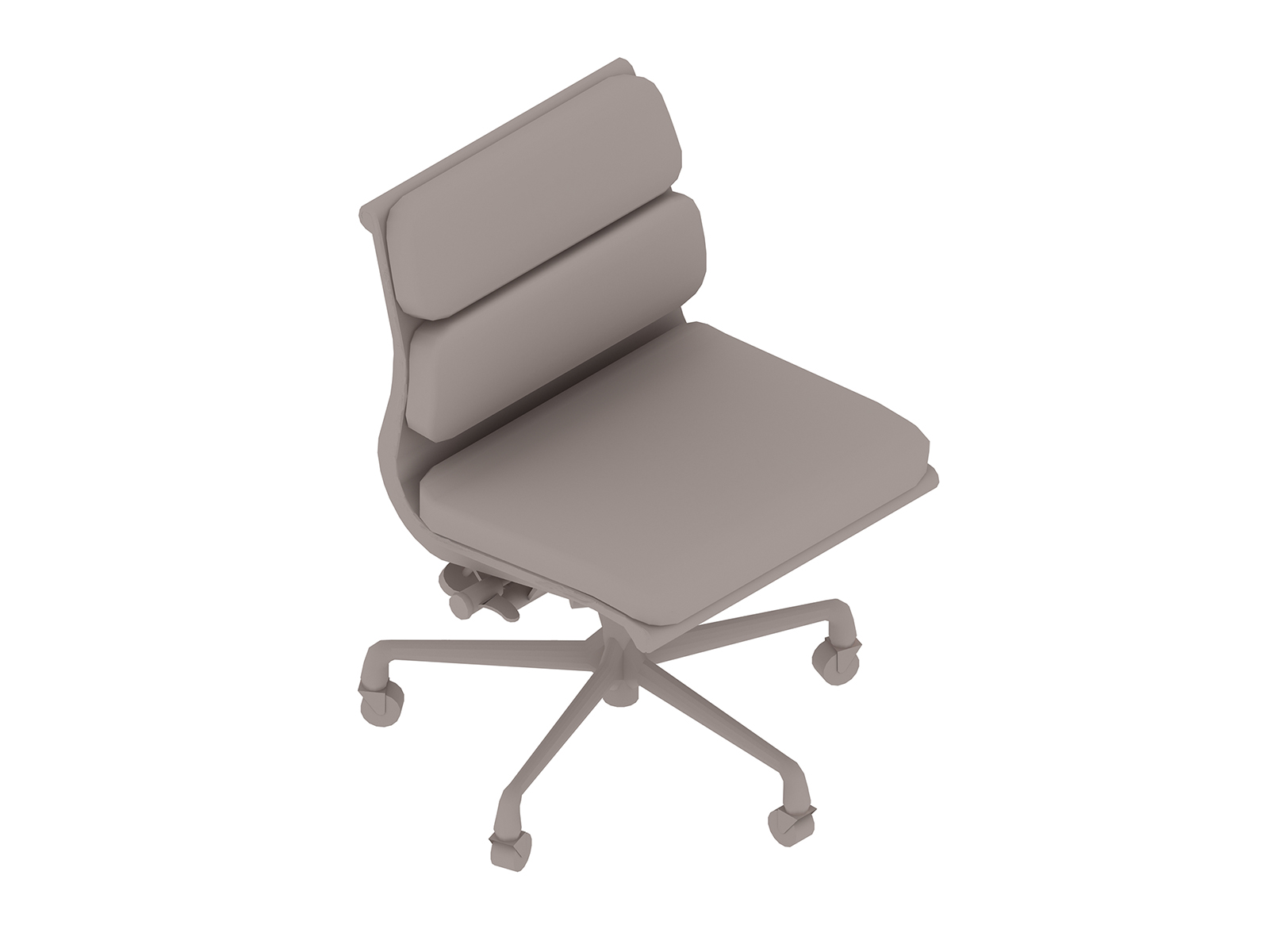 A generic rendering - Eames Soft Pad Chair–Management–Armless