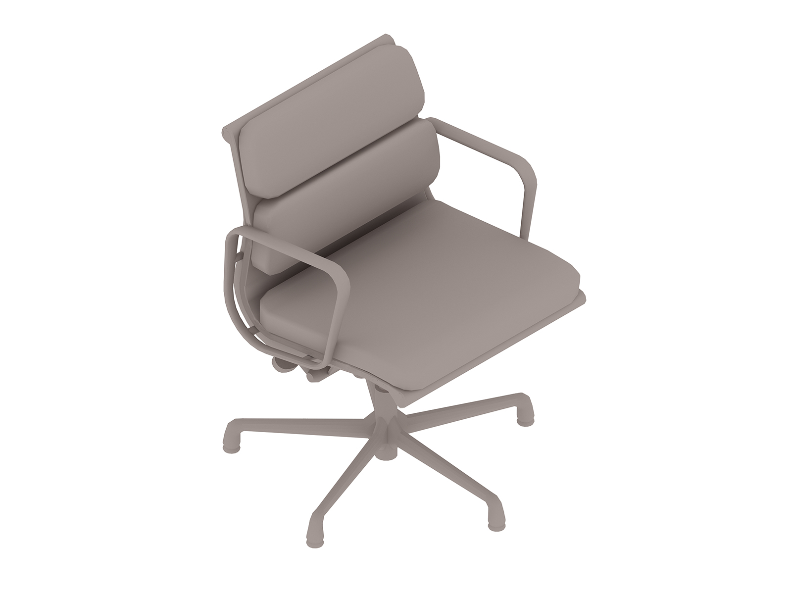 A generic rendering - Eames Soft Pad Chair–Management–With Arms