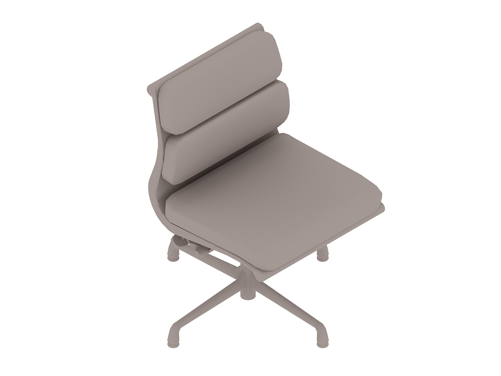 A generic rendering - Eames Soft Pad Side Chair–Armless