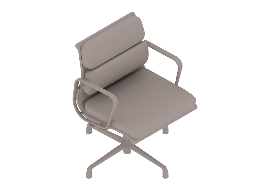A generic rendering - Eames Soft Pad Side Chair–With Arms