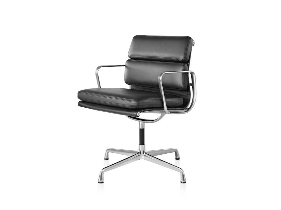 A photo - Eames Soft Pad Side Chair–With Arms
