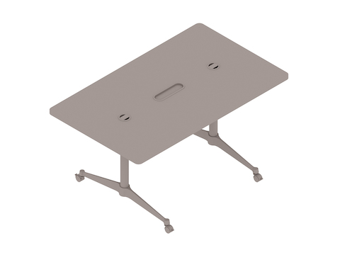 A generic rendering - Eames T-Leg Table