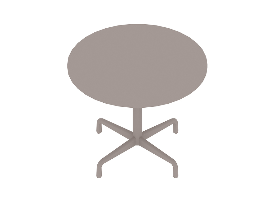 A generic rendering - Eames Table–Round–Contract Base