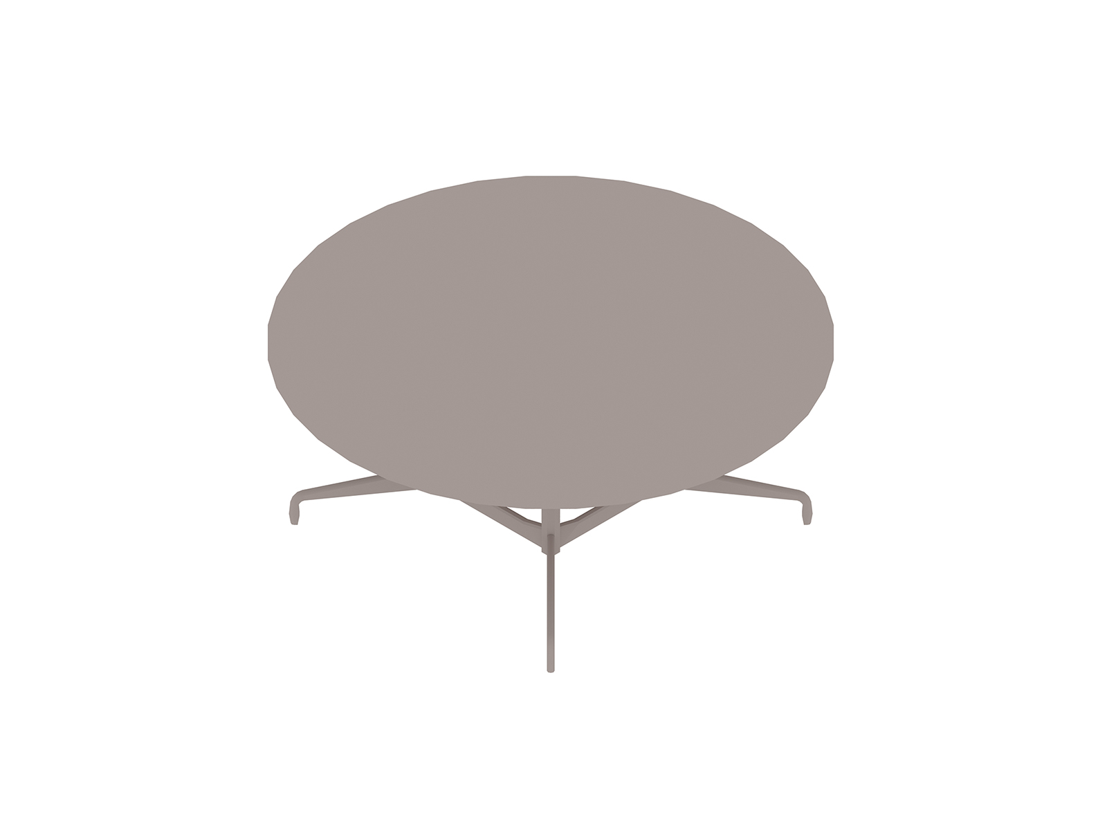 A generic rendering - Eames Table–Round–Segmented Base