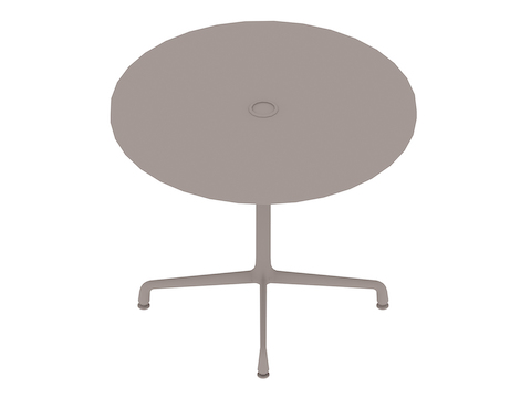 A generic rendering - Eames Table–Round–Universal Base
