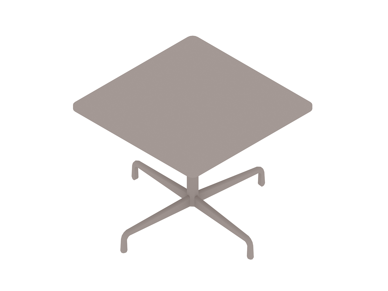 A generic rendering - Eames Table–Square–Contract Base