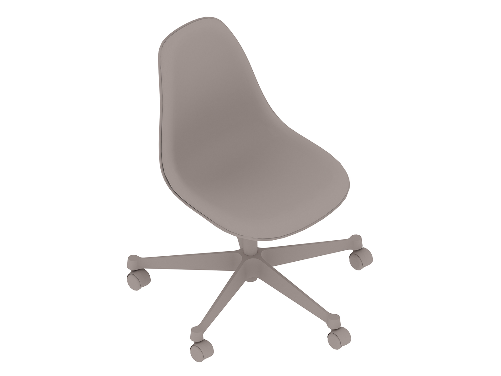 A generic rendering - Eames Task Chair–Armless–Fully Upholstered