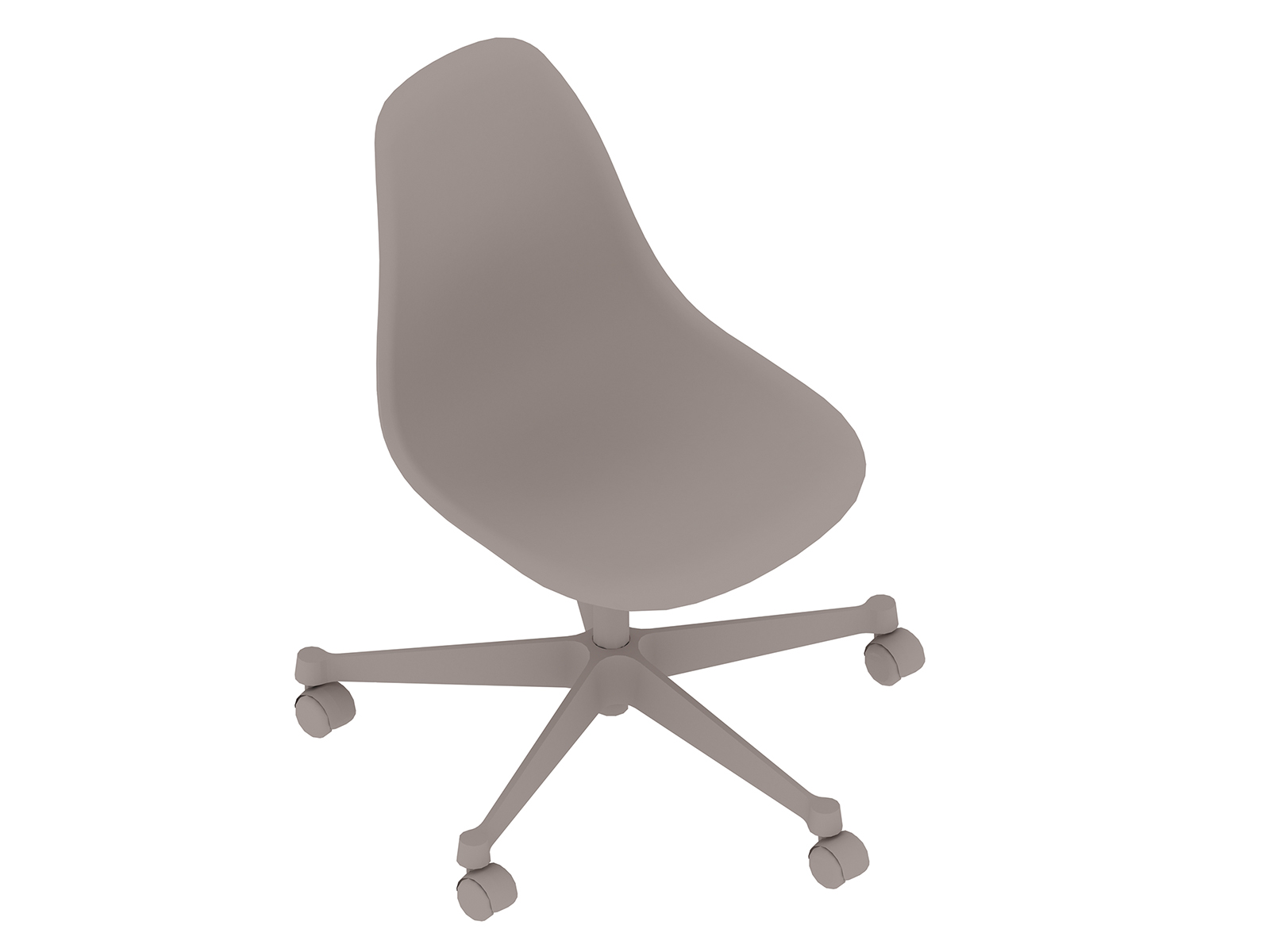 A generic rendering - Eames Task Chair–Armless–Nonupholstered