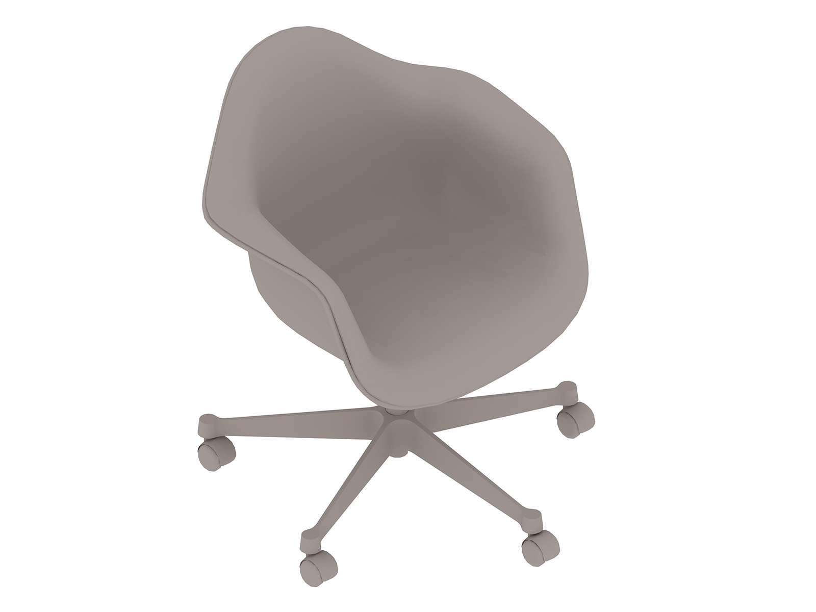 A generic rendering - Eames Task Chair–With Arms–Fully Upholstered