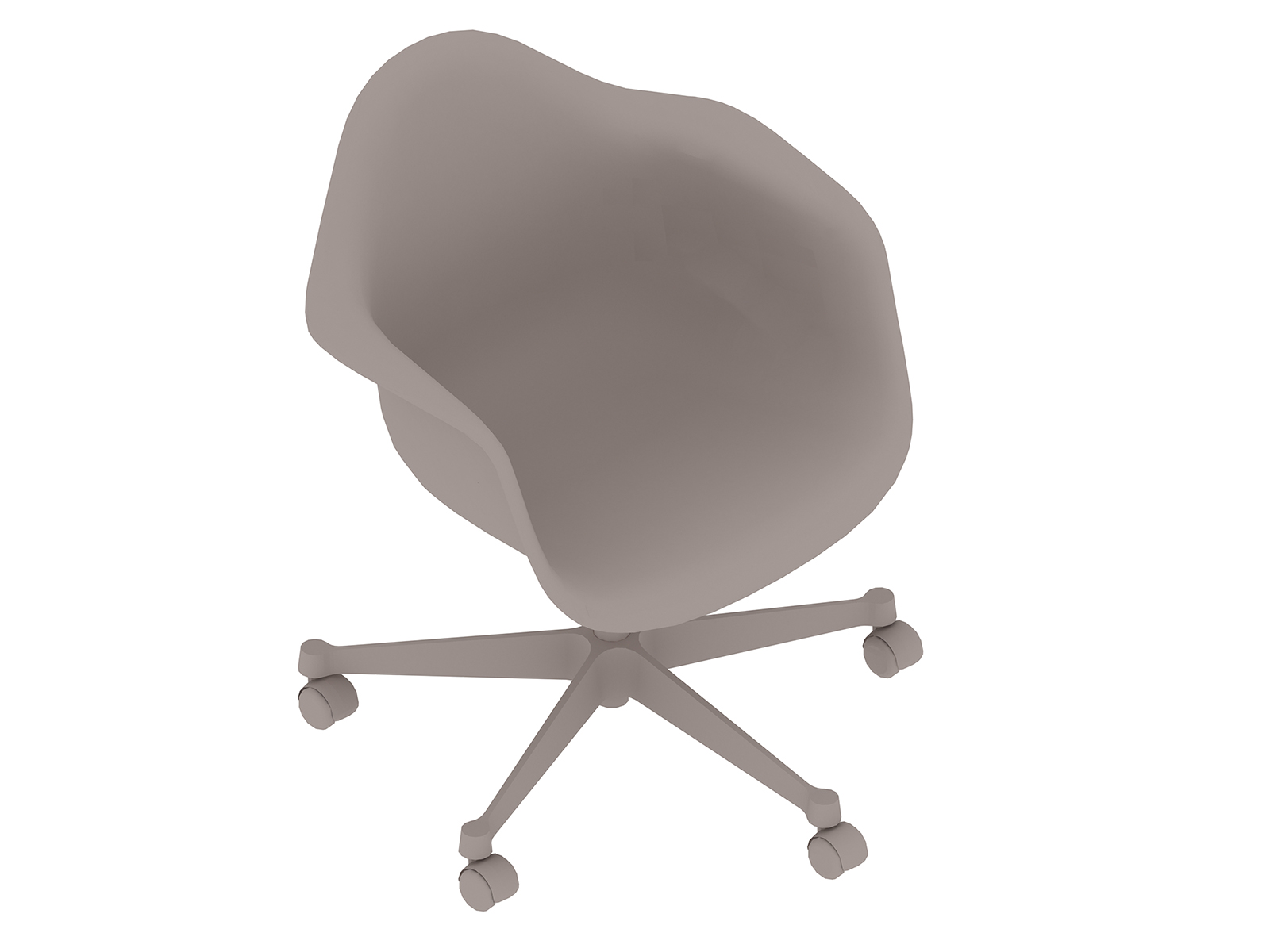 A generic rendering - Eames Task Chair–With Arms–Nonupholstered