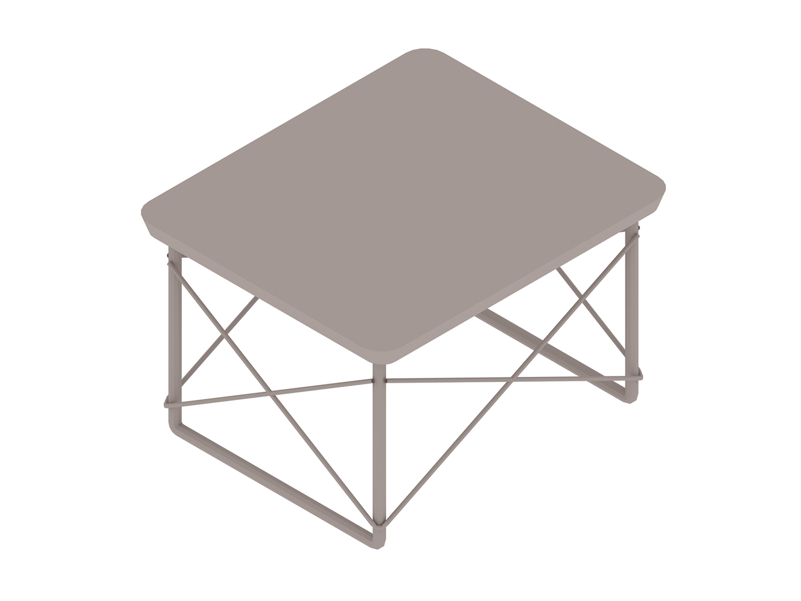 A generic rendering - Eames Wire Base Low Table