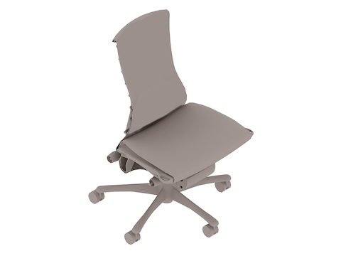 A generic rendering - Embody Chair–Armless