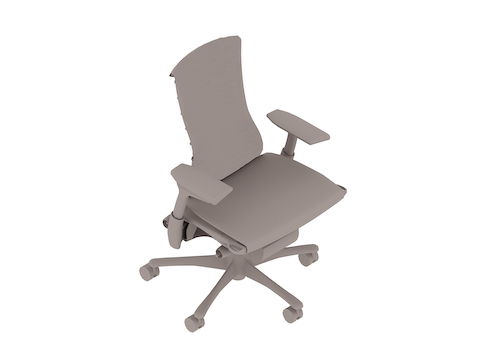 A generic rendering - Embody Chair–With Arms