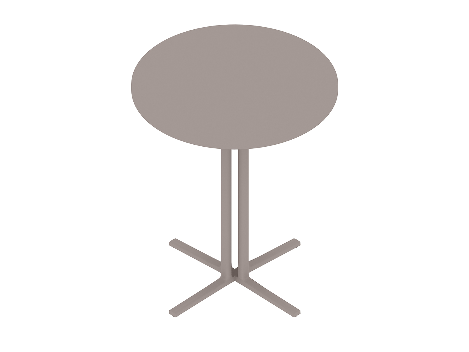 A generic rendering - Everywhere Standing Height Table–Round