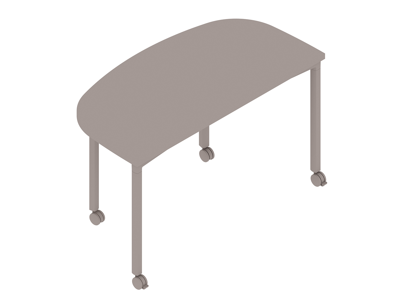 A generic rendering - Everywhere Table–D-Shape