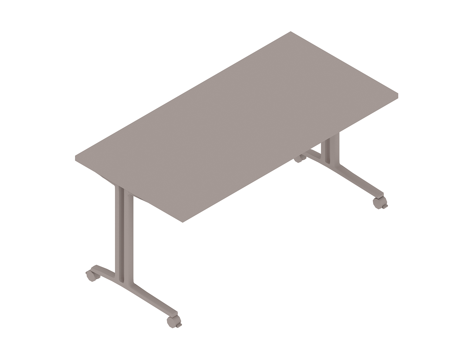 A generic rendering - Everywhere Table–Rectangular–C Leg