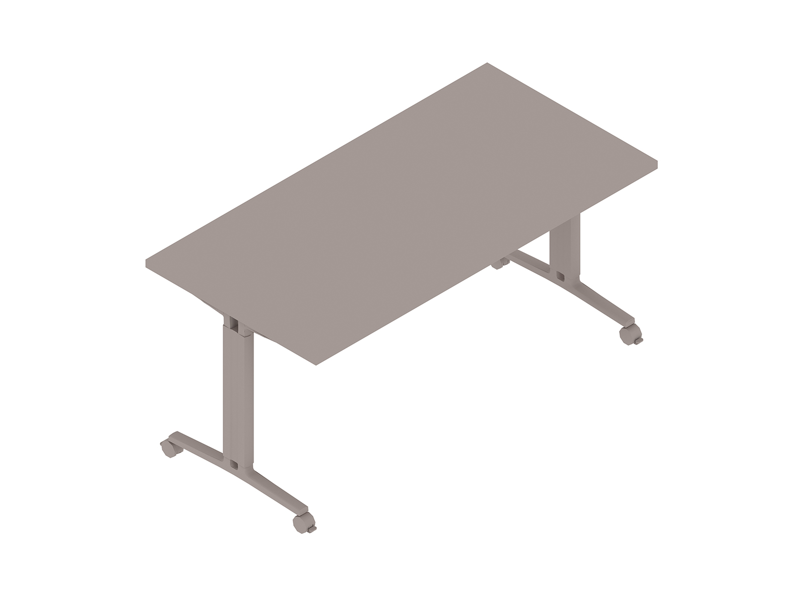 A generic rendering - Everywhere Table–Rectangular–T Leg