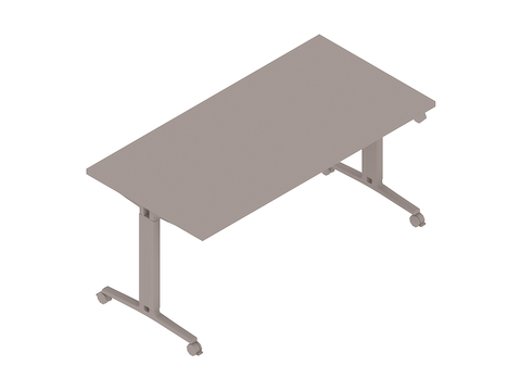 A generic rendering - Everywhere Table–Rectangular–T Leg With Height Adjustment