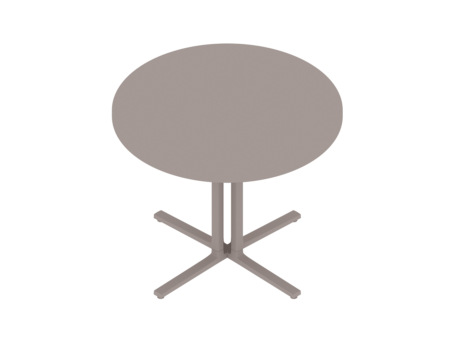 A generic rendering - Everywhere Table–Round–4-Column Base
