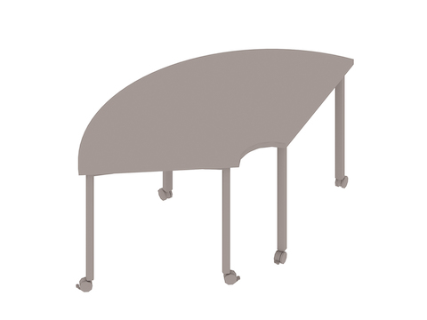 A generic rendering - Everywhere Table–Round Corner
