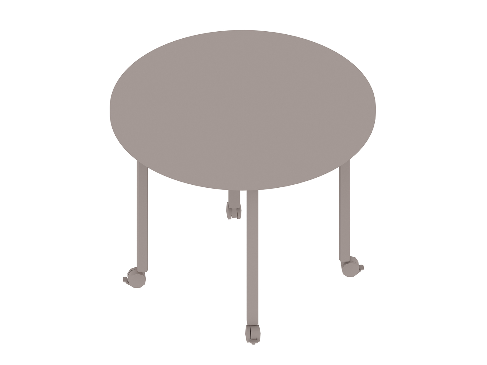 A generic rendering - Everywhere Table–Round–Post Leg