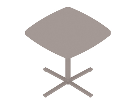 A generic rendering - Everywhere Table–Soft Square–Single Column Base