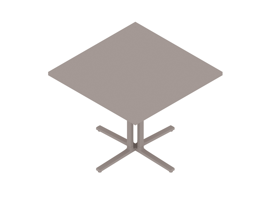 A generic rendering - Everywhere Table–Square–4 Column Base