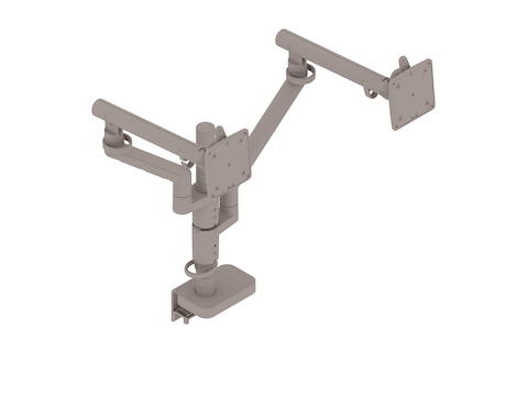 A generic rendering - Flo Monitor Arm–Modular