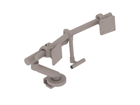 A generic rendering - Flo Plus Monitor Arm–Dual