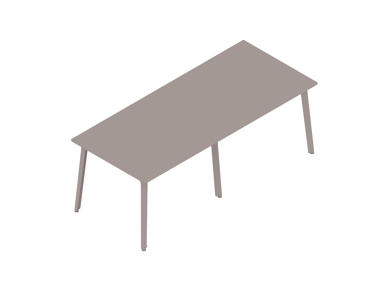 A generic rendering - Fold Bar Height Table–6 Leg