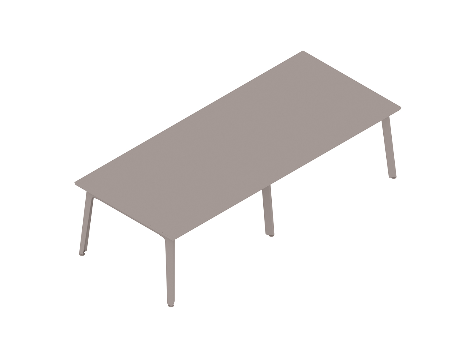 A generic rendering - Fold Conference Table–Rectangular–6 Leg