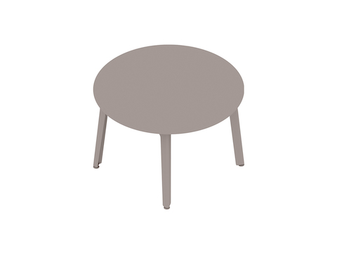 A generic rendering - Fold Conference Table–Round