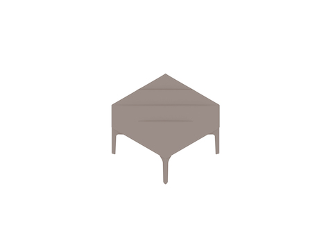 A generic rendering - Hatch Single Stool