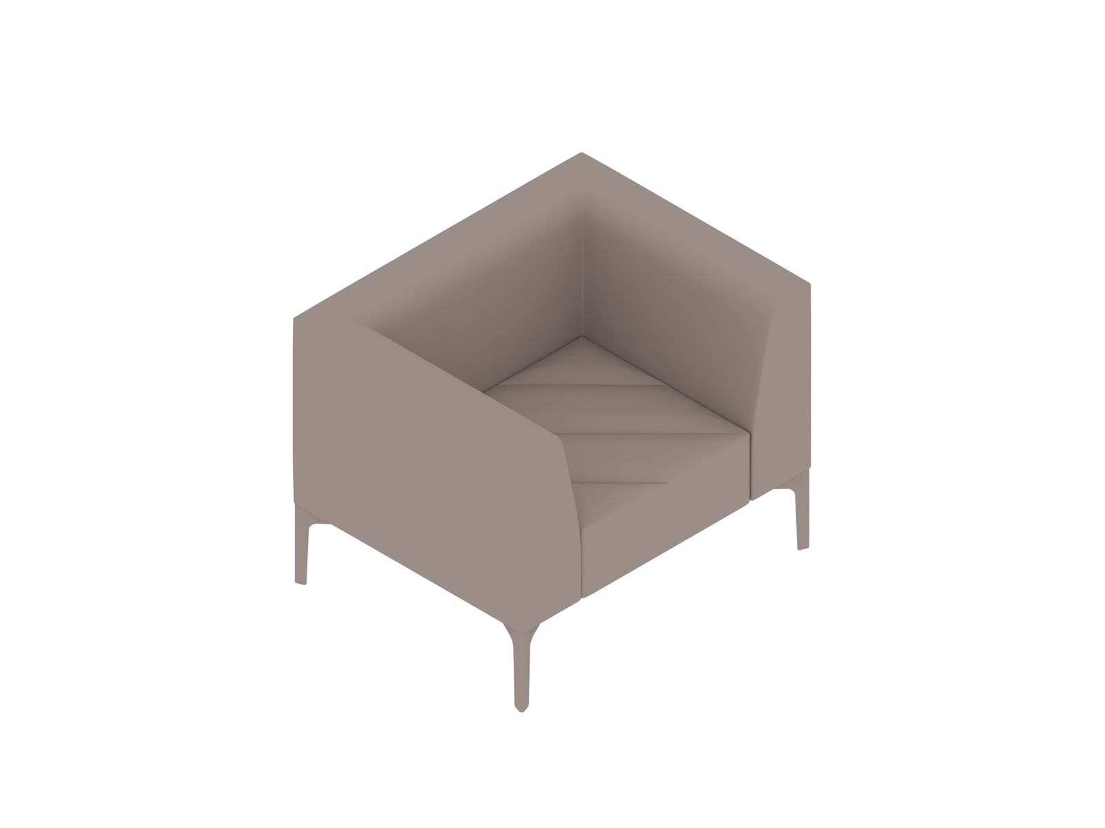 A generic rendering - Hatch Lounge Chair