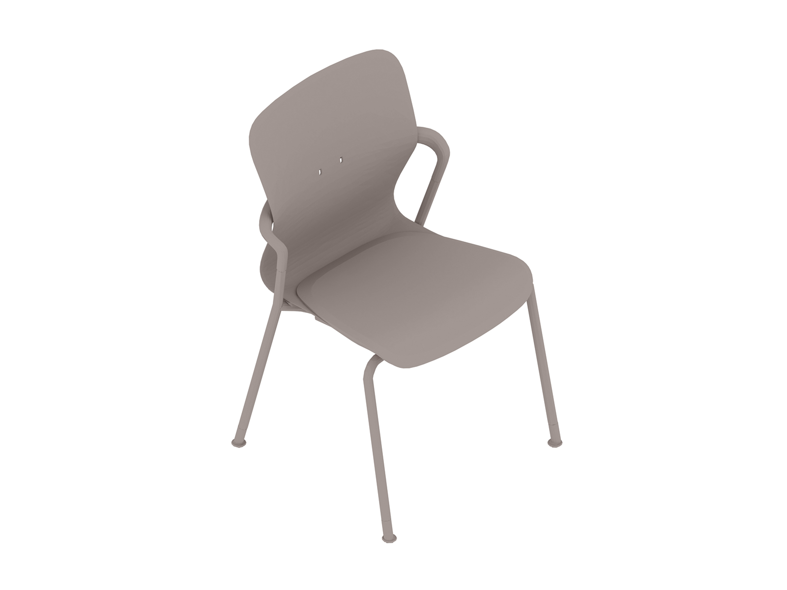 A generic rendering - Keyn Chair–4-Leg Base–Armless
