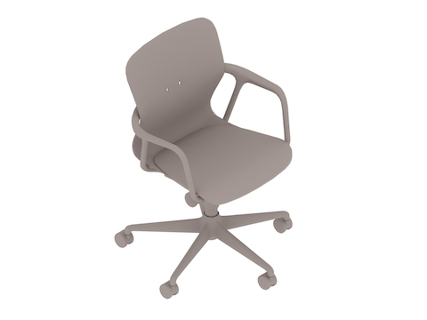 A generic rendering - Keyn Chair – 5-star Base