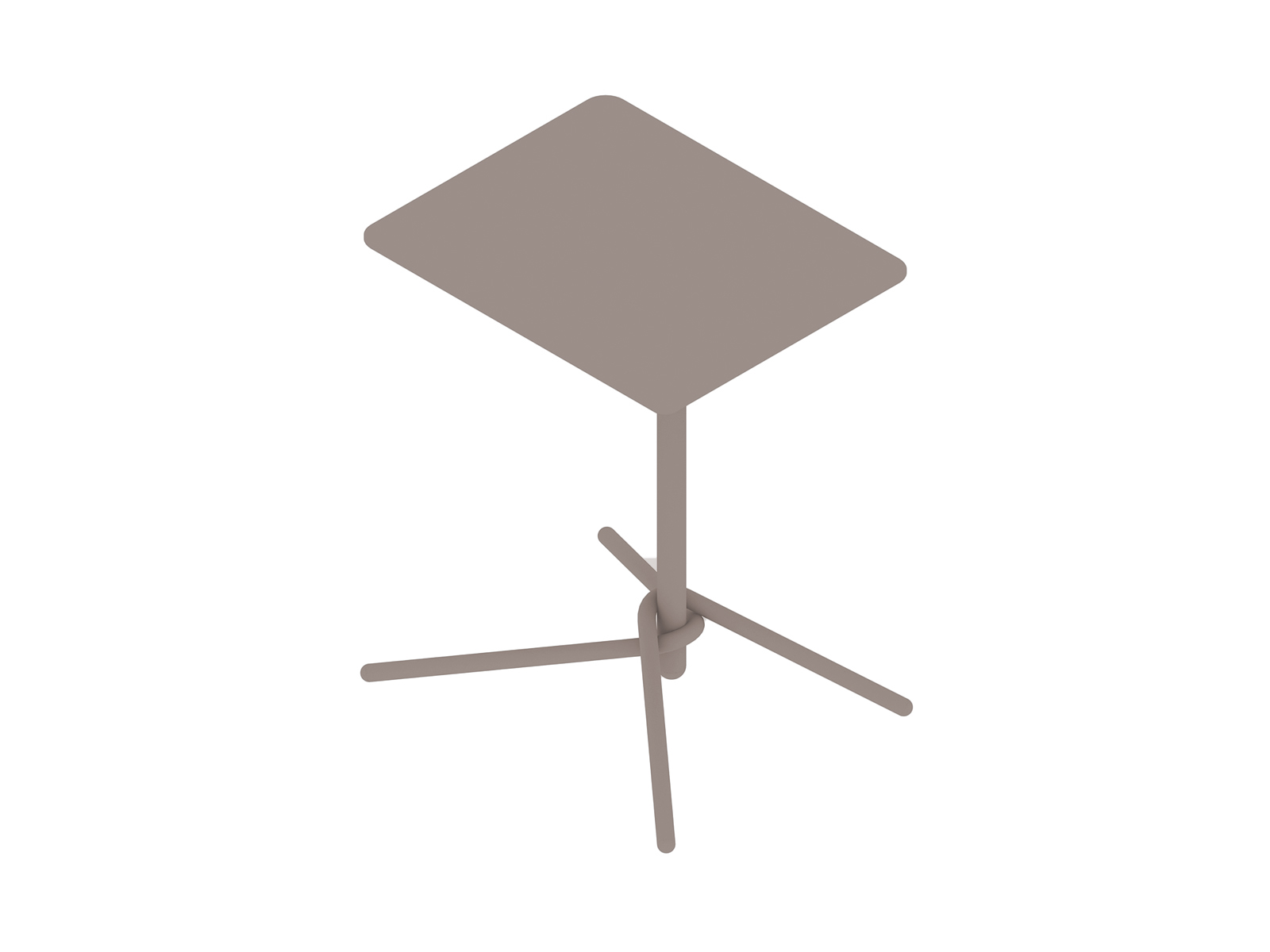 A generic rendering - Knot Side Table–Rectangular