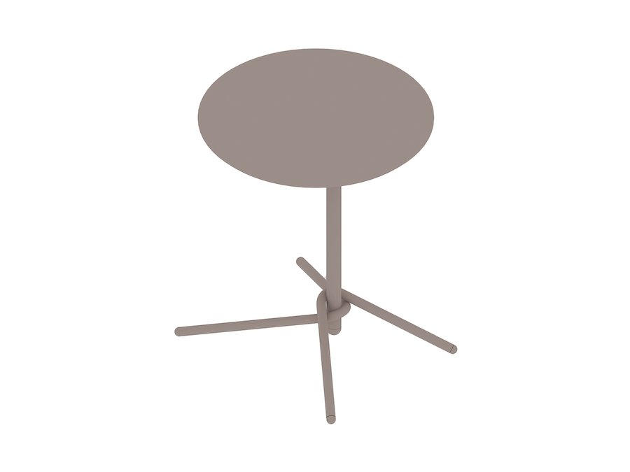 A generic rendering - Knot Side Table–Round