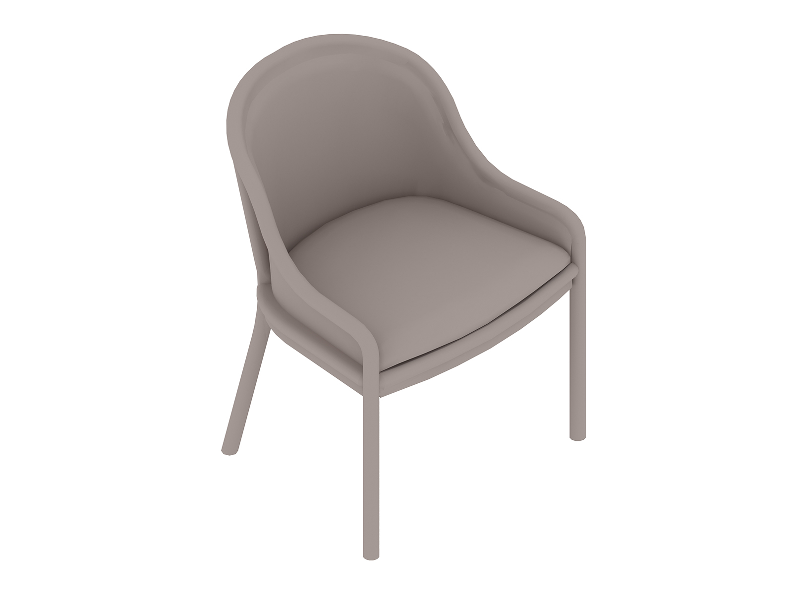 A generic rendering - Landmark Chair–French Upholstered–Low Arms