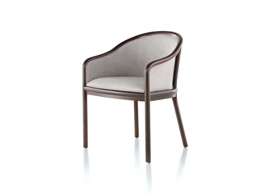 A photo - Landmark Chair – French Upholstered – Standard Arms