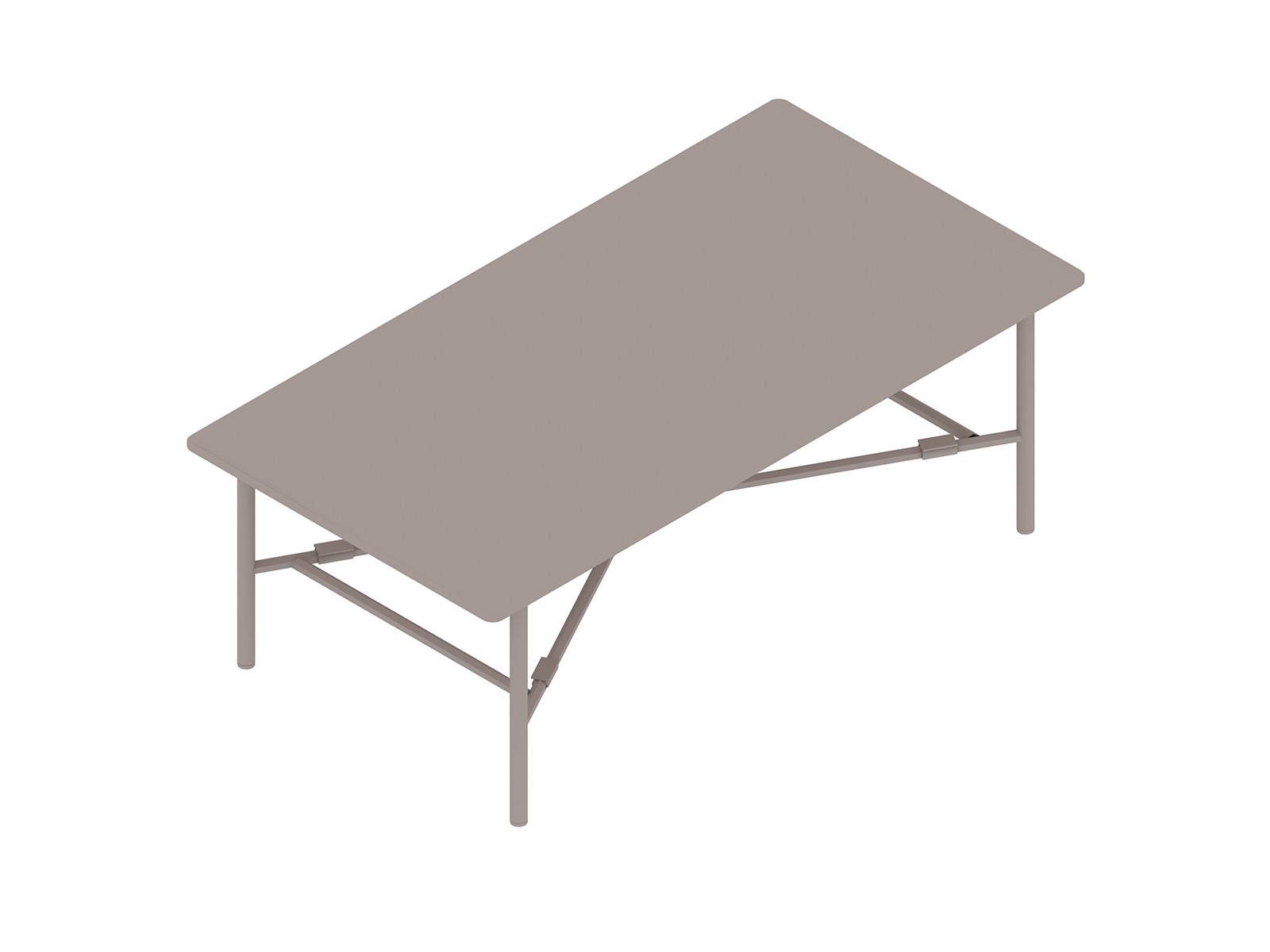 A generic rendering - Layer Coffee Table – No Shelf