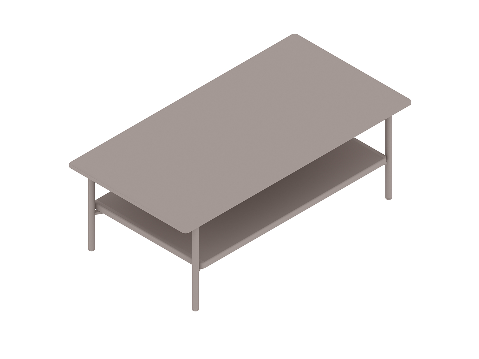 A generic rendering - Layer Coffee Table – Wood Shelf