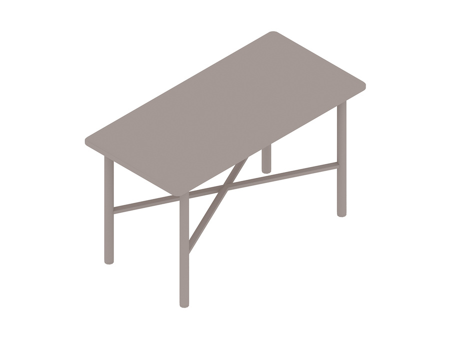 A generic rendering - Layer Side Table–No Shelf