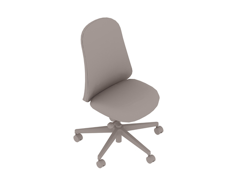 A generic rendering - Lino Chair–Armless