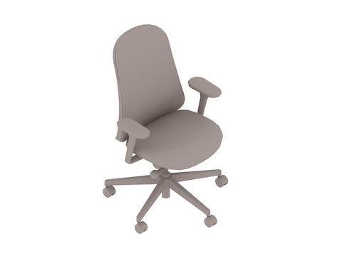 A generic rendering - Lino Chair–Fixed Arms