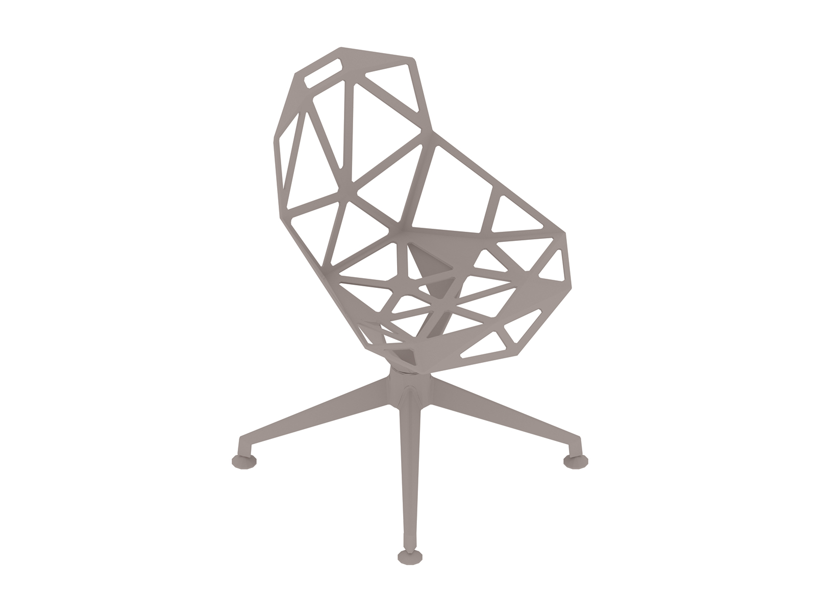 A generic rendering - Magis Chair_One–4-Star Base