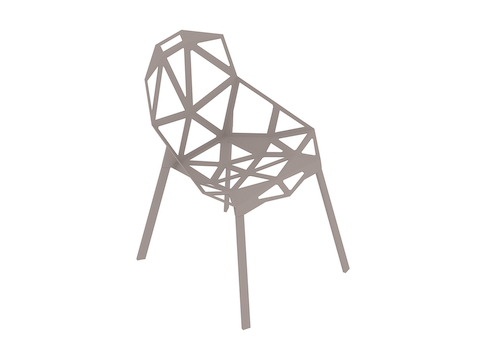 A generic rendering - Magis Chair_One–Stacking Base