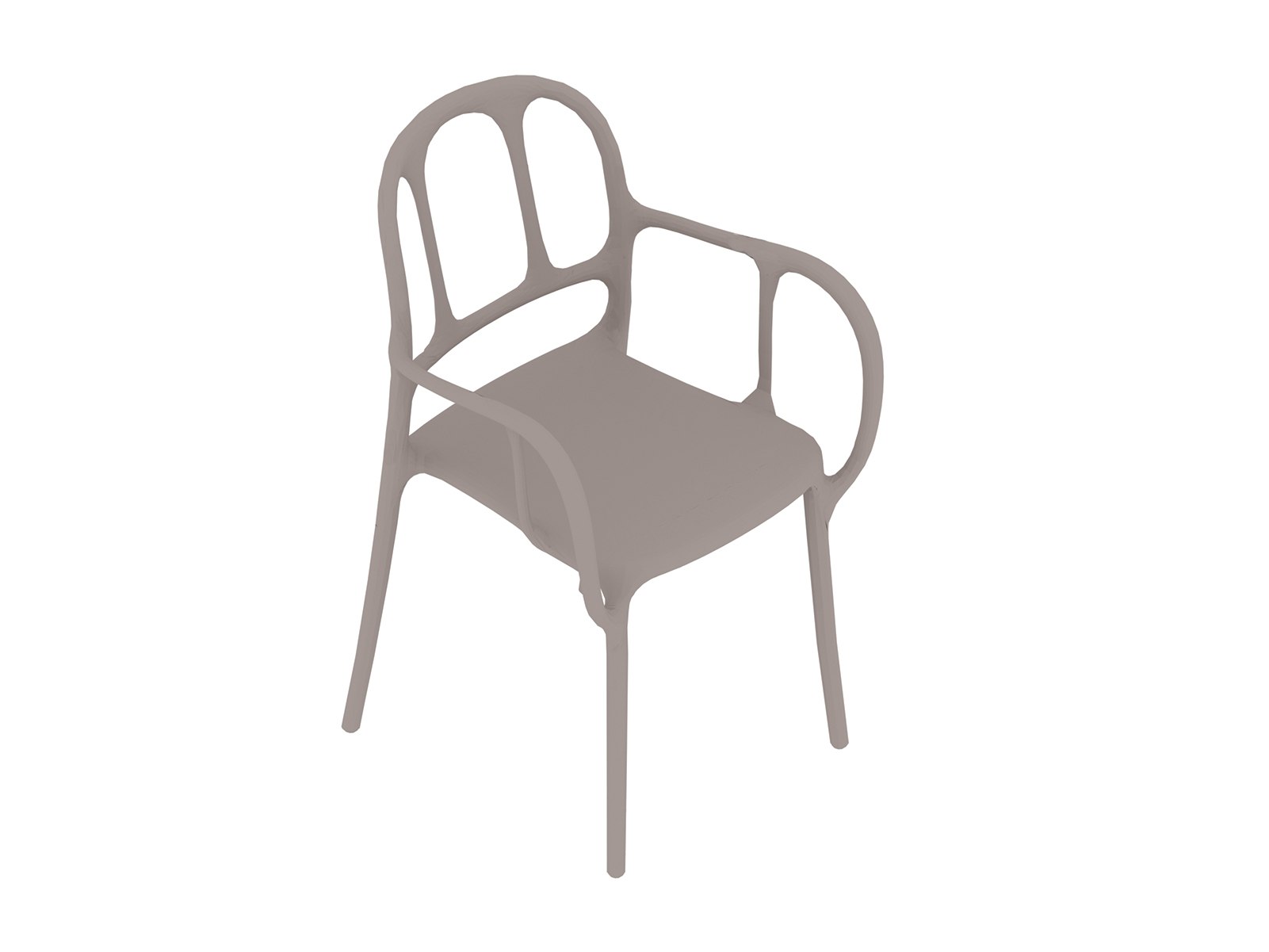 A generic rendering - Magis Mila Chair-Nonupholstered